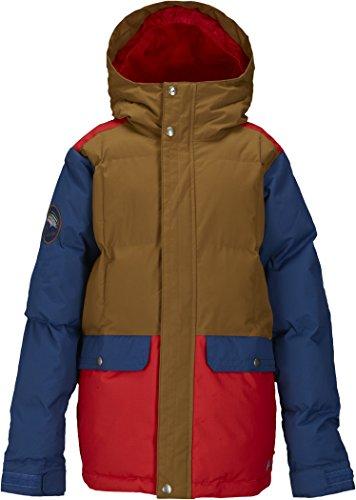 Burton Jungen Snowboardjacke Boys Tundra Pufy Jacket, Beaver Tail Block, L, 15028100248