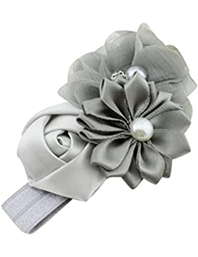Culater® Fiore Del Bambino Ragazza Accessori Perla Fiore Fascia Dei Capelli Della Fascia Del Hairband