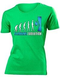 Sport - CLIMBING EVOLUTION - Cooles Fun T-Shirt Damen S-XXL