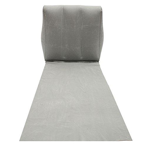 Zurück Stühle, Hocker (Inovey Outdoor Pvc Aufblasbare Camping Zurück Kissen Kissen Stuhl Reise Freizeit Lounger Mat Pad -Grey)