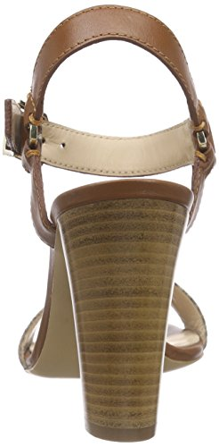 Hugo Venusia 10187689 01, Sandales  Bout ouvert femme Marron - Braun (pastel brown 231)
