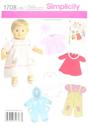 simplicity-pattern-1708os-15-inch-one-size-baby-doll-clothes