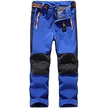 Deporte Al Aire Libre Pantalones De Trekking Niño Pantalones De Montaña Softshell Pantalones Impermeable Senderismo Niña