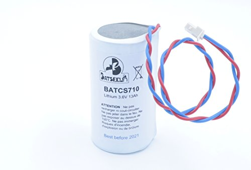 Batteria BATCS710 compatibile BAT-MCS700 BAT-MCS730-3.6V 13Ah LiSoCl2 - VISONIC