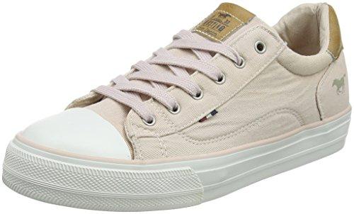 MUSTANG Damen 1272-301 Sneaker, rot 5, 42 EU
