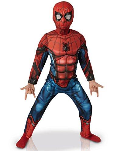Spiderman Homecoming Kostüm 98/104 (3-4 Jahre) (Offizielle Spiderman Kostüme)