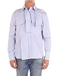 c2dfc66b6e5 Valentino Hombre PV0AB7394YKLIGHTBLUE Azul Claro Algodon Camisa