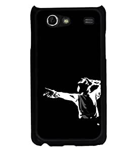 ifasho Young Dancing Boy Back Case Cover for Samsung Galaxy S Advance i9070