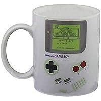Nintendo Game Boy Thermoeffekt Tasse Super Mario 300ml Keramik Weiß