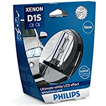 D1S Philips WhiteVision Gen2 Xenon Grabadora Ultimate LED Effect de 35 W, PK32d-2 2 2 pieza S1