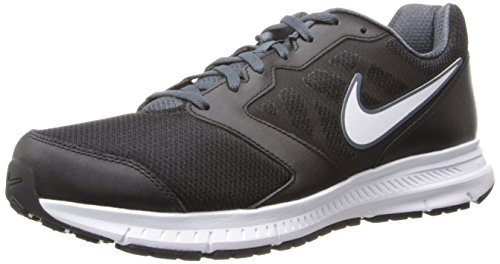 NIKE DOWNSHIFTER 6  ZAPATILLAS DE RUNNING PARA HOMBRE  NEGRO (BLACK / WHITE DK MAGNET GREY)  44 5 EU