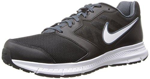 Uomo Lacci Nero Nike Downshifter 6 Scarpe Da Ginnastica Misura UK 9 EUR 44