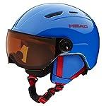 Head Boys Mojo Visor Ski or Snowboard Helmet