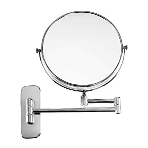 Songmics 5 compartment normal cosmetic mirror 8 inch for Miroir grossissant
