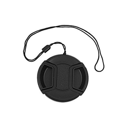 55mm Center Pinch Snap-Front Lens Cap Cover voor Filter Hood Front Lens Cap Cover