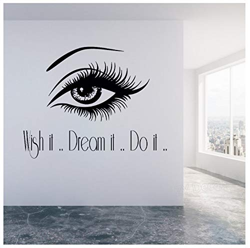 jqpwan Maquillaje tatuajes de pared   Wish It Dream It Do...