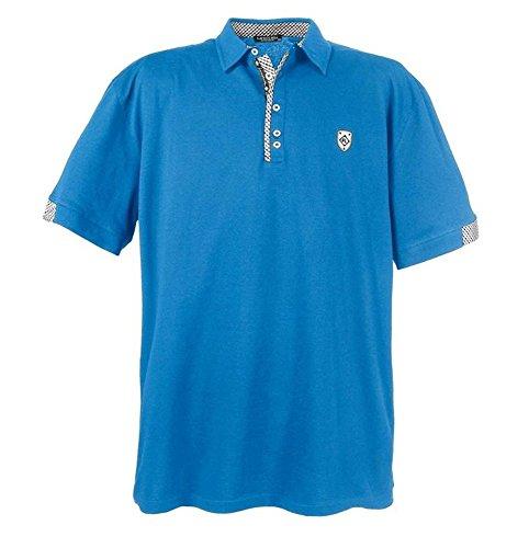 Übergrössen !!! WOW !!! Hippes Polo-Shirt Kurzarm LAVECCHIA 2 Farben 3102 Türkis