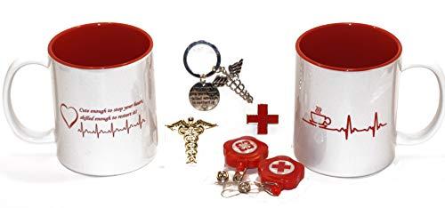 (7) Stück Medical Professional/Krankenschwestern 11. Oz Kaffee Tasse Geschenk Pack (Kaffee-geschenk-pack)