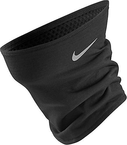 Nike Unisex- Erwachsene Run Therma Sphere Nackenwärmer, Black/Silver, S/M