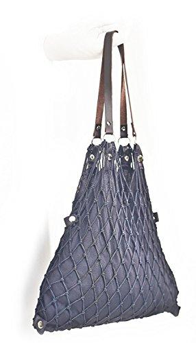 Einkaufsnetz de Luxe schwarz 2011855