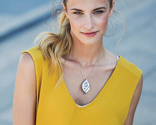 Bellabeat Leaf Urban Health Tracker/Smart Jewelry, Silver Edition