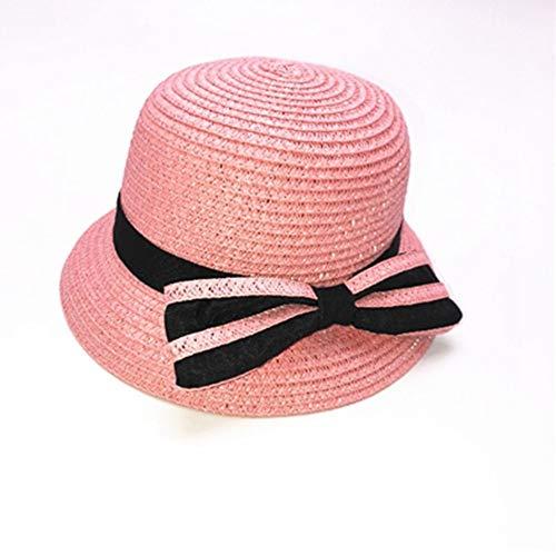 140033a07fc TianMI Chapeau Mignon Bébé Chapeau De Paille pour Les Enfants D Été Fedora  Hat Cute