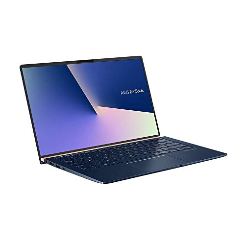 Asus ZenBook 14 UX433FA (90NB0JR2-M01510) 35,5 cm (14 Zoll Full HD) Notebook (Intel Core i5-8265U, 8GB RAM, 256GB SSD, Intel UHD-Grafik 620, Win 10 Home) royal blue