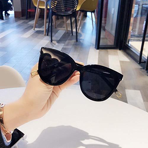 BHLTG Sonnenbrille Weibliche Flut Persönlichkeit Sonnenbrille Polygon Sonnenbrille Herren Harajuku Wind Langes rundes Gesicht War dünn Reiten Fahren Mirror-2