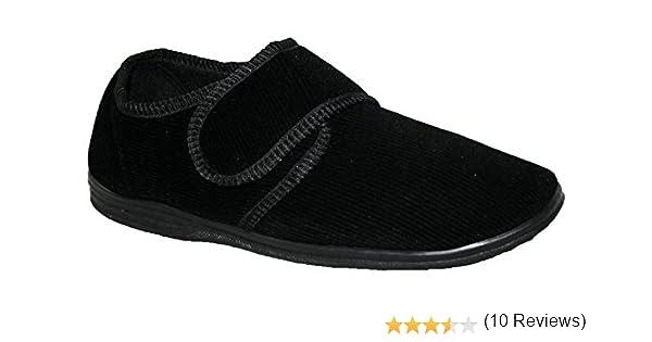 0dcef3d790ab7 Northwest Territory diabétiques orthopédique Messieurs Easy Close Coupe  Large Fermeture Velcro Chaussures Pantoufles  Amazon.fr  Chaussures et Sacs