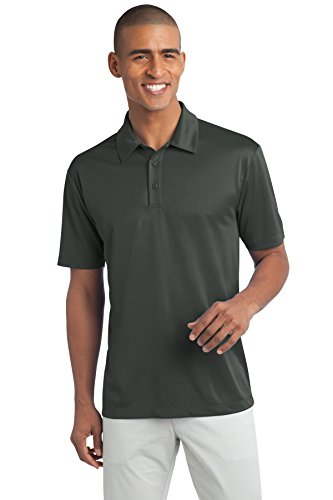 Port Authority® Tall Silk Touch™ Performance Polo. TLK540 Steel Grey 4XLT