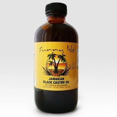 Jamaican Castor Oil Sunny Isle Black 4oz / 118ml (Black Hair Growth)