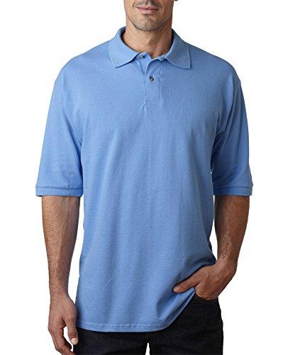 Jerzees Herren 6,5oz Baumwolle Piqué Polo Columbia Blue