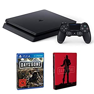 PlayStation 4 – Konsole (1TB, schwarz) + Days Gone – Standard Edition inkl. Steelbook (Amazon exclusive) – [PlayStation…