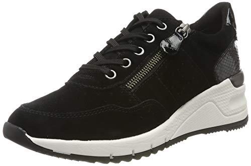 Tamaris Damen 1-1-23727-23 Sneaker, Schwarz (Black Comb 98), 38 EU