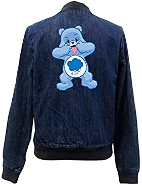 Angry Bear Tongue Bomber Chaqueta Girls Jeans Certified Freak