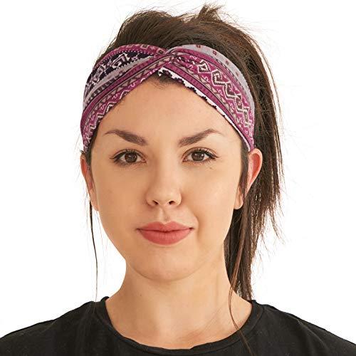 Diadema Turbante Verano Mujeres Boho - Diadema Mujer Yoga Ejercicios L