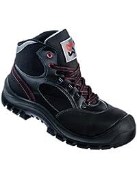 Aimont deneb s1P sRC chaussures berufsschuhe businessschuhe sandale chaussures de trekking noir - Noir - Noir, 36