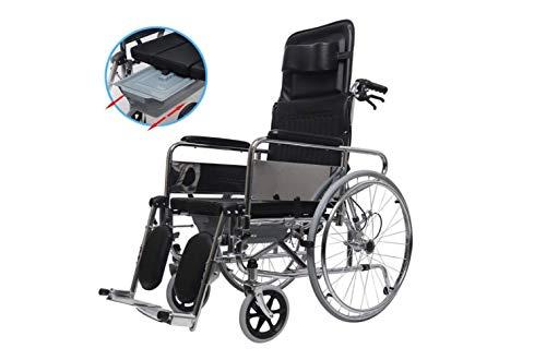 Rollstuhl Leichter Elektrorollstuhl Für Erwachsene - Mobiler Transportrollstuhl - Faltbarer Tragbarer Rollstuhl Mit Eigenantrieb - Zwei Modi,A,A - Körper-handschuh-kinder T-shirt