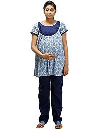 Ziva Maternity Wear Women's Maternity Pyjama Set
