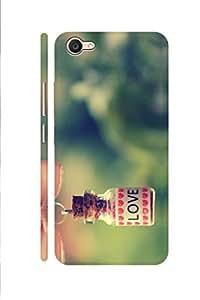 AMAN Love Bottle 3D Back cover for Vivo V5 Plus