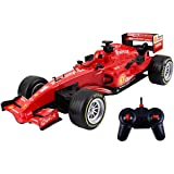 Webby 1: 12 Scale Champions Remote Control High Speed Car Toy, Red