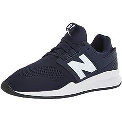 New Balance Ms247en, Zapatillas para Hombre, Azul (Pigment/White Munsell Melange), 42.5 EU