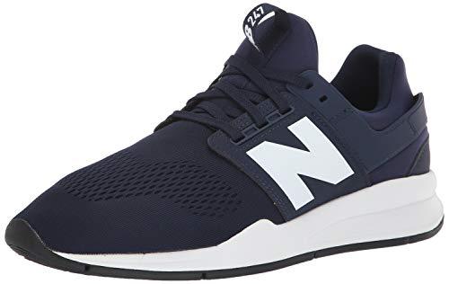 40a54c17d37d9 New Balance Herren 247v2 Sneaker Blau (Pigment White Munsell Melange) 42 EU