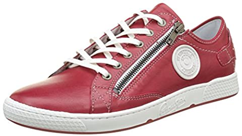 Pataugas Jester/N, Baskets Basses Femme, Rouge (Rouge), 36 EU