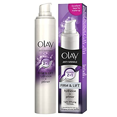 Olay Anti-Wrinkle Firm and Lift 2-in-1 Moisturiser and Anti-Ageing Primer, 50 ml by Procter & Gamble