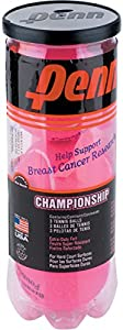 Penn Pink Championship Extra Duty Tennis Ball Can, 3 Balls Review 2018