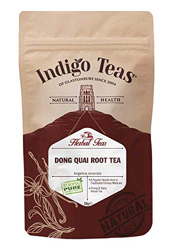 Dong Quai-wurzel-pulver (Indigo Herbs Dong Quai Wurzel Tee 50g)