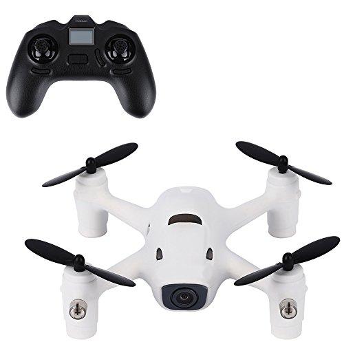 Preisvergleich Produktbild Mini Quadcopter Drohne, Yokkao 720p 2,4 G 4CH RC Quadrocopter mit Akku für Hubsan X4 Kamera Plus H107C Einstellbare Geschwindigkeitsmodus für Anfänger