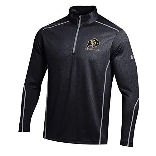 Under Armour Herren Performance Mock NCAA bestätigen leicht Golf 1/4Zip, Herren, Validate Lightweight Golf Performance Mock, schwarz -