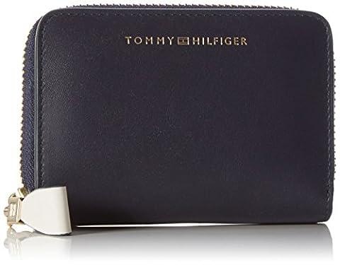Tommy Hilfiger Damen MID LEATHER SMALL COLOURBLOCK Geldbörse Mehrfarbig (Corporate Colourblock)
